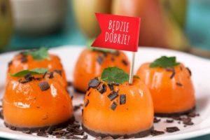 galaretki pomarańczowo czekoladowe