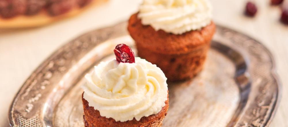 muffiny marchewkowe z kremem
