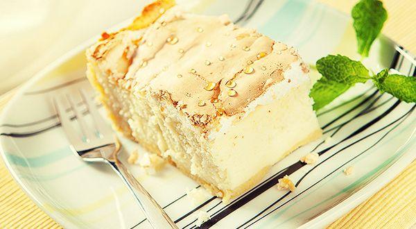 kruche ciasto sernik