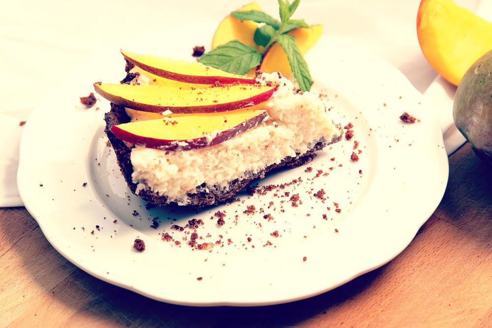 tarta z mango i kokosem